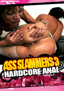 Ass Slammers 3 Hardcore Anal Box Cover