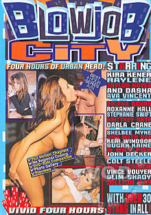 Blowjob City Box Cover