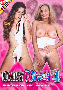 Hairy Divas Volume 4 Box Cover