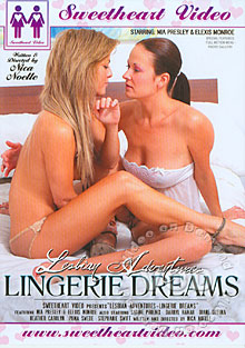 Lesbian Adventures - Lingerie Dreams Box Cover
