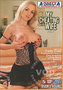 My Cheating Wife Vol. 4 Box Cover