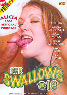 She Swallows #18 Box Cover
