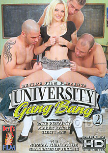 University Gang Bang 2 Box Cover