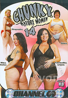 Chunky Mature Women 14 Box Cover
