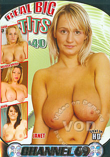 Real Big Tits #40 Box Cover