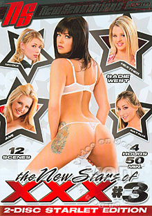 The New Stars Of XXX #3 (Disc 2) Box Cover - Login to see Back
