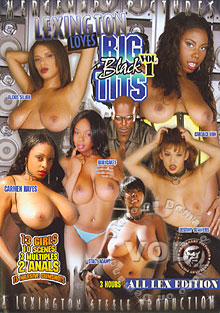 Lexington Loves Big Black Tits Vol 1 Box Cover