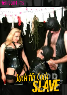 Suck His Cock Slave Box Cover