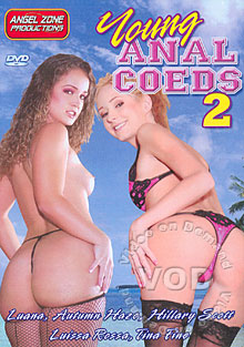 Young Anal Coeds 2 Box Cover