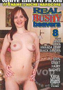 Real Bushy Beavers 8 Box Cover