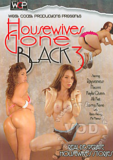 Housewives Gone Black 3 Box Cover