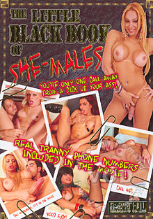 The Little Black Book Of She-Males Box Cover
