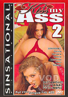 Kiss My Ass 2 Box Cover