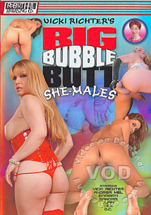 Big Bubble Butt She-Males Box Cover