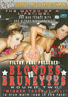 Blondes Vs Brunettes - Round Two Box Cover