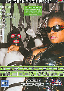 Mistress Cerise Is The Dominator Box Cover