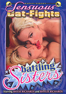Sensuous Catfights - Battling Sisters Box Cover