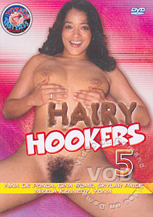 Hairy Hookers 5 Box Cover
