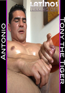 Latinos Jerking Off: Antonio The Tiger