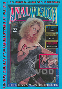 Anal Vision Volume 22 Box Cover