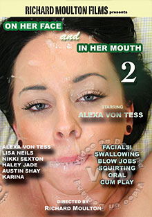 On Her Face And In Her Mouth 2 Box Cover
