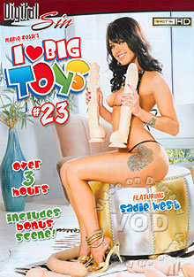 I Love Big Toys #23 Box Cover