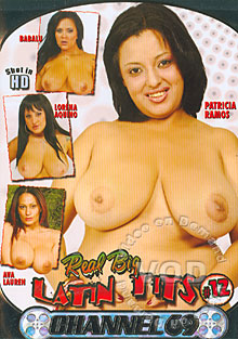 Real Big Latin Tits #12 Box Cover