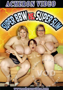 Super BBW Vs. Super Slim Box Cover