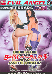 Battle Of The Sluts 3 - Bobbi Starr Vs. Annette Schwartz (Disc 1) Box Cover