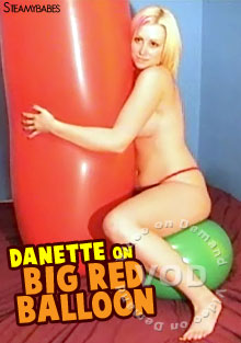 Danette On Big Red Balloon Box Cover