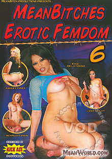 Mean Bitches Erotic Femdom 6 Box Cover