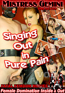 Singing Out In Pure Pain Box Cover