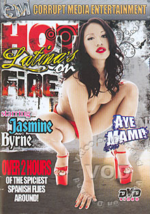 Hot Latinas On Fire Box Cover