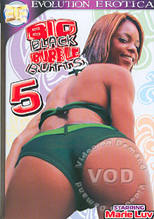 Big Black Bubble Butts 5 Box Cover