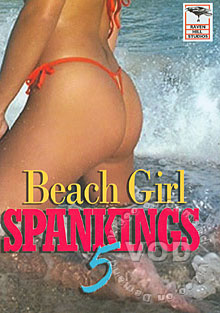 Beach Girl Spankings 5 Box Cover