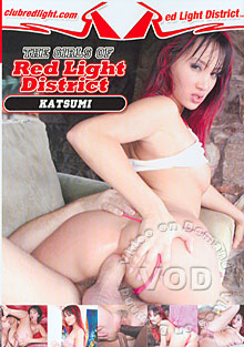 The Girls Of Red Light District - Katsumi Box Cover
