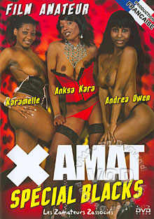 X Amat Special Blacks Box Cover