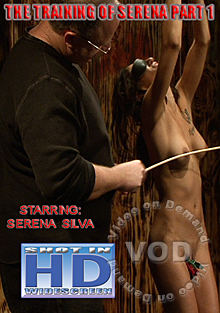 The Training Of Serena Silva Part 1 Box Cover