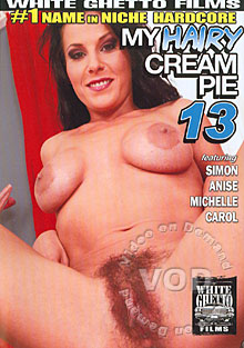 My Hairy Cream Pie 13 Box Cover