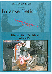 Intense Fetish Volume  854 - Kirsten Gets Punished Box Cover