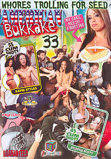 American Bukkake 33 Box Cover