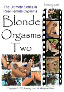 Blonde Orgasms Two Box Cover