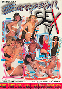 European Sex TV Box Cover