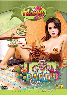 TGirl Party #2 Box Cover