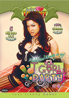 TGirl Party #4 Box Cover