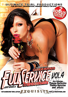 Full Service Transsexuals Vol 4 Box Cover
