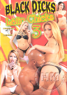 Black Dicks Latin Chicks 3 Box Cover