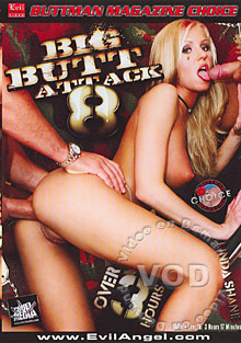 Big Butt Attack 8 Box Cover