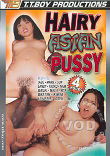 Hairy Asian Pussy Box Cover