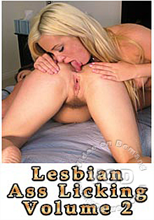 Lesbian Ass Licking Volume 2 Box Cover